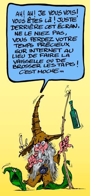 Michel loiseau dessin d 39 humour photo pao cr ation de sites - Dessin 4x4 humoristique ...